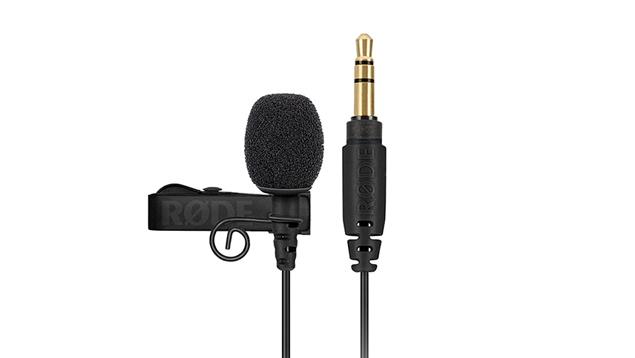 RODE Lavalier GO Professional-grade Wearable Microphone - BLACK