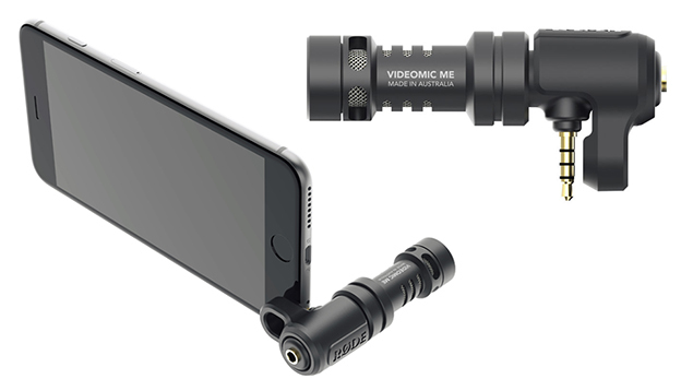 RODE VideoMic Me Directional microphone for smart phone