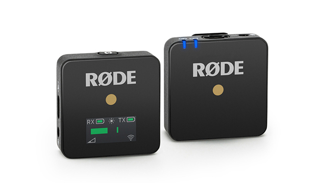 RODE Wireless GO Compact Wireless Microphone System - BLACK