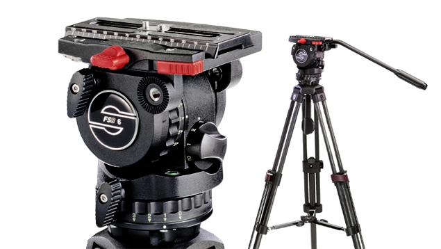 Sachtler FSB-6 Head / SpeedLock Carbon Fibre Tripod (75mm Bowl)