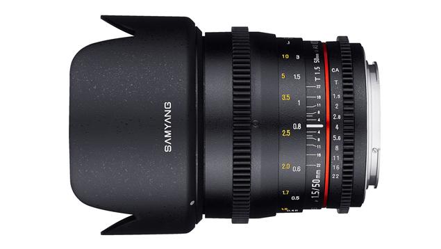 Samyang 50mm T1.5 VDSLR AS UMC Lens (EF Mount - Full Frame)