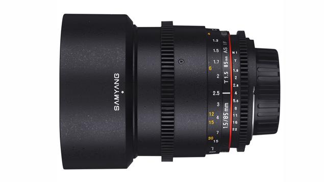 Samyang 85mm T1.5 VDSLR AS IF UMC Lens (EF Mount - Full Frame)