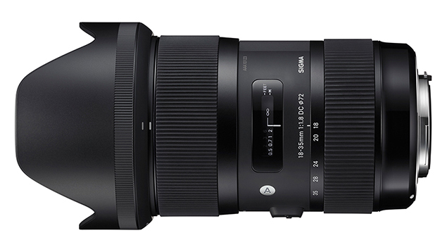 Sigma 18-35mm ART f1.8 DC HSM Lens (EF Mount - APS-C)