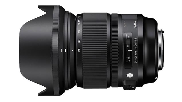 Sigma 24-105mm ART f4.0 DG OS HSM Zoom Lens (EF-Mount - Full-Frame)