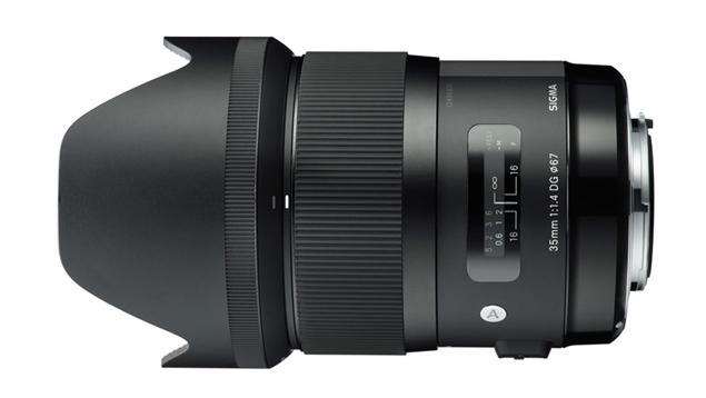 Sigma 35mm ART f1.4 DG HSM Lens (EF Mount - Full Frame)
