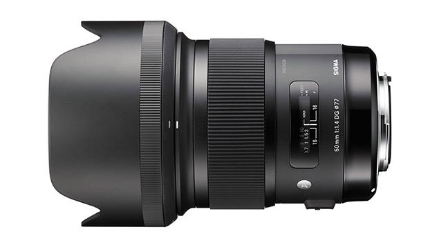 Sigma 50mm ART f1.4 DG HSM Lens (EF Mount - Full Frame)