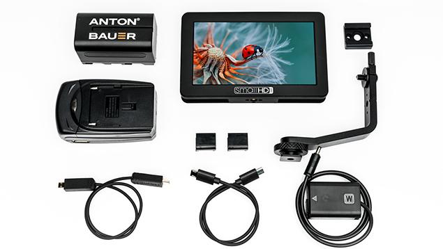 SmallHD FOCUS 5 HDMI 5-inch Monitor (Sony NPFW50 Bundle) - 800nits