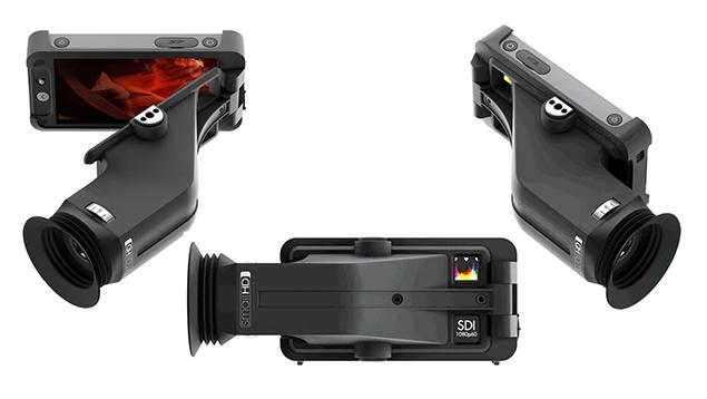 SmallHD 502 Sidefinder HDMI/SDI 5-inch EVF/Monitor Combo - 400nits