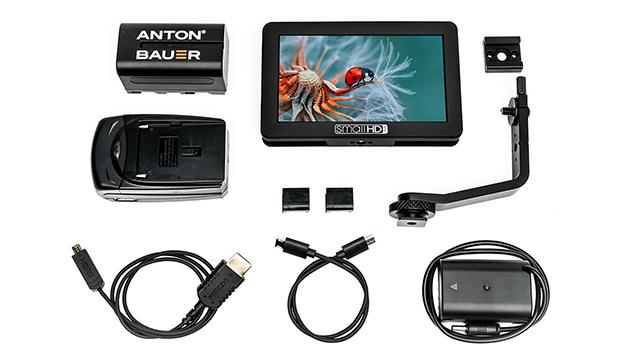 SmallHD FOCUS 5 HDMI 5-inch Monitor (Panasonic DMWBLF19 Bundle) - 800nits