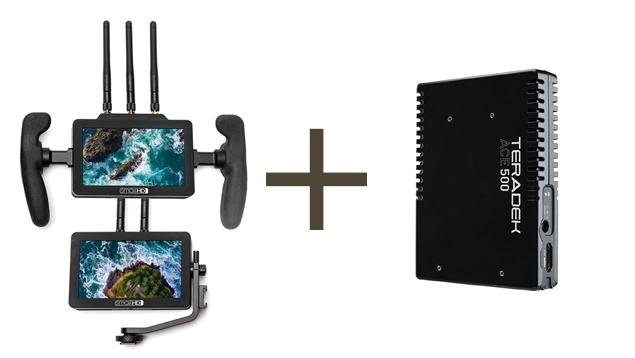 SmallHD FOCUS Bolt TX/RX HD Wireless Video + Ace 500 RX COMBO