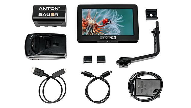 SmallHD FOCUS 5 HDMI 5-inch Monitor (Nikon EN-EL14 Bundle) - 800nits