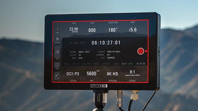 SmallHD Cine 7 On-Camera Monitor with Cinema Camera Control - 1800nits