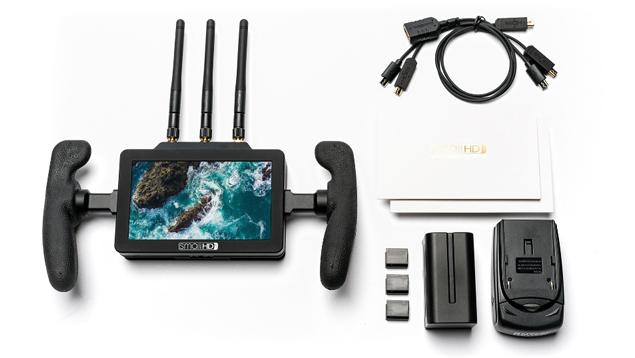 SmallHD FOCUS Bolt RX 5-inch Daylight Touchscreen + Built-in 500ft HD Wireless Teradek Receiver