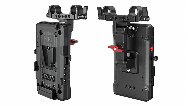 SmallRig V Mount Battery Adapter Plate with Adjustable Arm