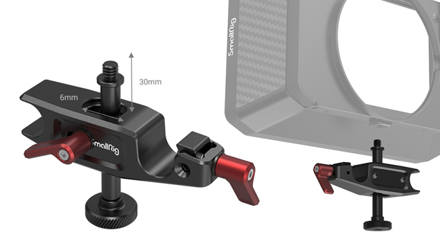 SmallRig 2663 15mm LWS Rod Support for Matte Box