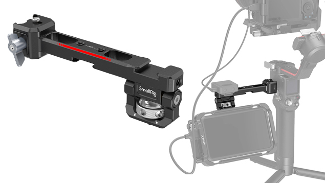 SmallRig 3026 Monitor Mount with NATO Clamp for DJI RS 2 & RSC 2