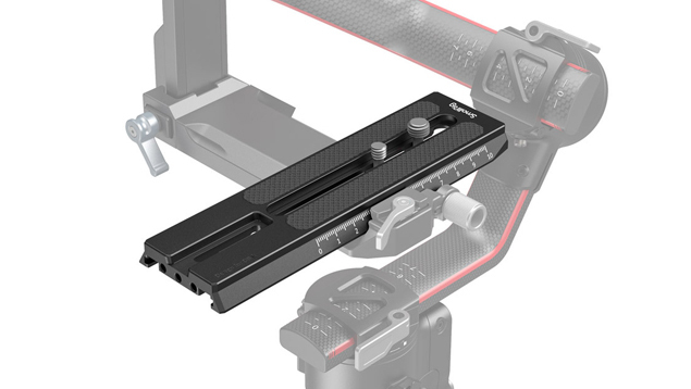 SmallRig 3031 Extended Quick Release Plate for DJI RS 2