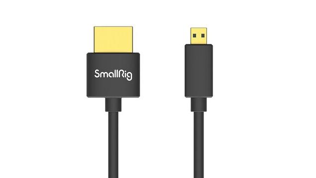 SmallRig 3043 Ultra-Slim Micro-HDMI to Full-HDMI Cable (55cm)