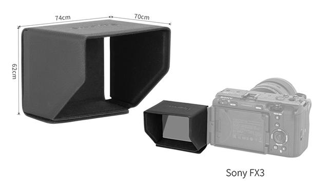 SmallRig 3206 Sunhood for Sony a7SIII, a7C, ZV-1, FX3 Cameras