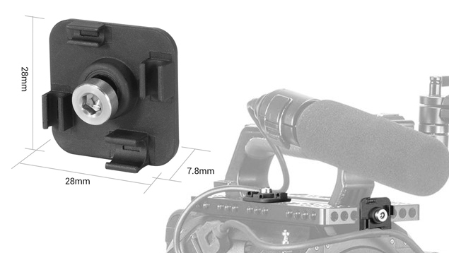 SmallRig BSC2435 Mini Cable Clamp for Tethering Cables (4 pcs)