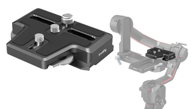 SmallRig 3162 Extended Arca-Type Quick Release Plate for DJI RS 2 & RSC 2 Gimbal