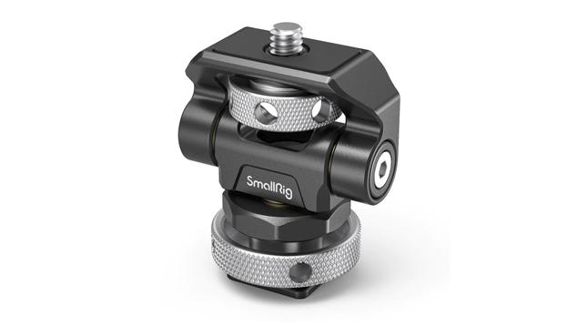 SmallRig 2905 Swivel & Tilt Adjustable Monitor Mount with Cold Shoe Mount