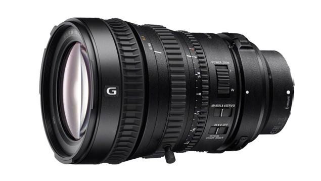 Sony 28-135mm f/4.0 35mm Power Zoom Lens (E-Mount - Full Frame)