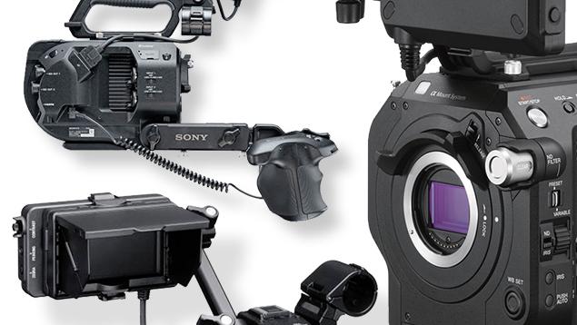 Sony PXW-FS7 II 4K Super35 Cinema Camera (Body)