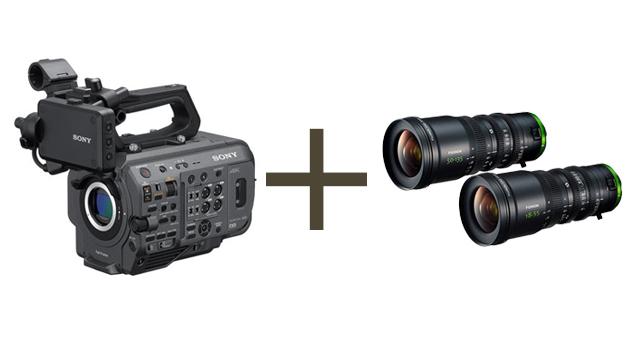 Sony PXW-FX9 Full-Frame 6K Camera + Fujinon MK18-55mm & 50-135mm T2.9 COMBO