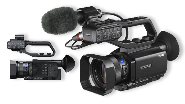 Sony PXW-X70 Compact XDCAM 4K Camcorder (12x Zeiss Lens)