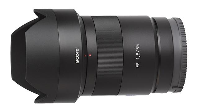 Sony/Zeiss Sonnar FE 55mm f1.8 Lens (E-Mount - Full Frame)