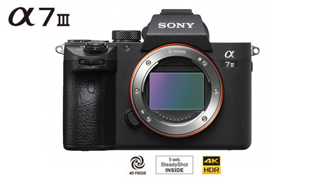 Sony a7III Mirrorless Digital Camera (Body)