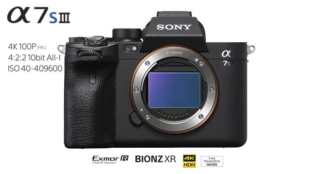 Sony a7SIII Mirrorless Digital Camera (Body)