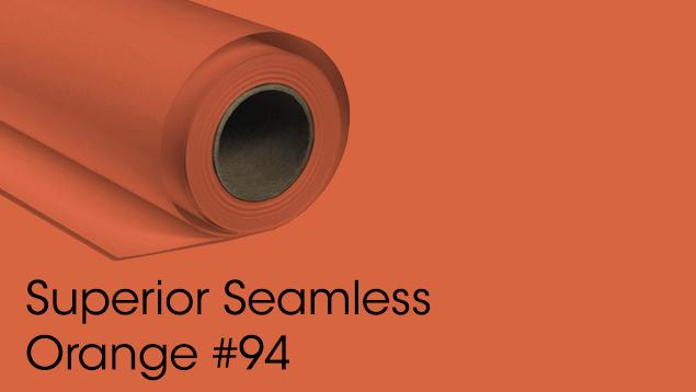 Superior Seamless Background Paper - Orange #94 (2.72M)