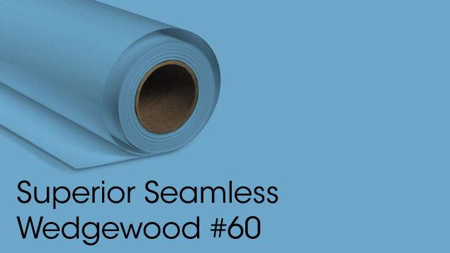 Superior Seamless Background Paper - Wedgewood #60 (2.72M)