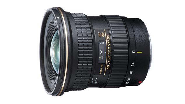 Tokina AT-X 11-20mm f/2.8 PRO DX Ultra-Wide Angle Zoom Lens (EF Mount - APS-C)