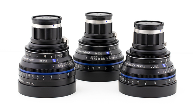 ZEISS Compact Prime CP.2 Super Speed Lenses - 35/50/ 80mm (E-Mount)
