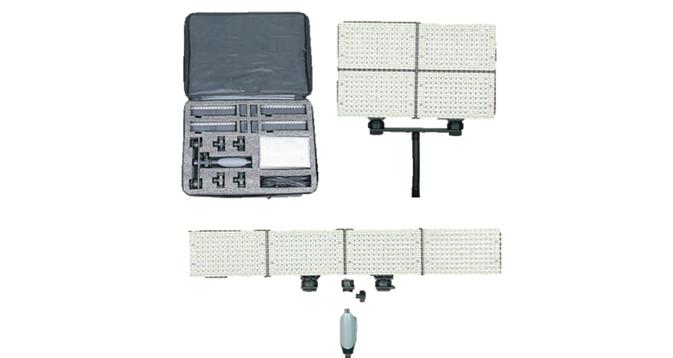 LEDGO 4x 150 LED Kit For Video & Photography Inc. Bag, Batteries & Charger