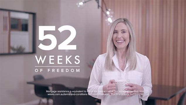 Weeks Building Group - 52 Weeks - TVC x2
