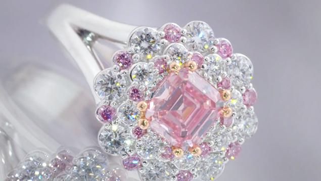 Australian Rare Pink Diamonds